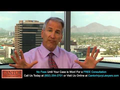 About Arizona Personal Injury Law Firm Cantor Injury Lawyers