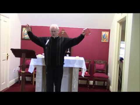 Fr. Thady Doyle talks at God's Cottage Prayer Centre Glendalough Co. Wicklow 8th October 2017