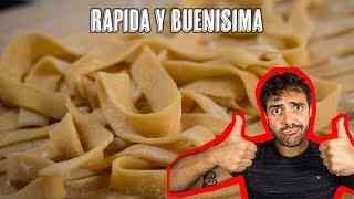 Como Hacer Pasta Fresca Casera sin Maquina - Lasagna, Tagliatelle, Tallarines, Spaghetti