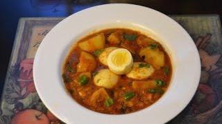 Anda Aloo Curry/Egg and Potato Curry Recipe