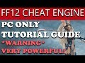 Final Fantasy 12 The Zodiac Age PC Overpowered Cheats! WARNING WILL MAKE GAME EASY (Cheat Engine)