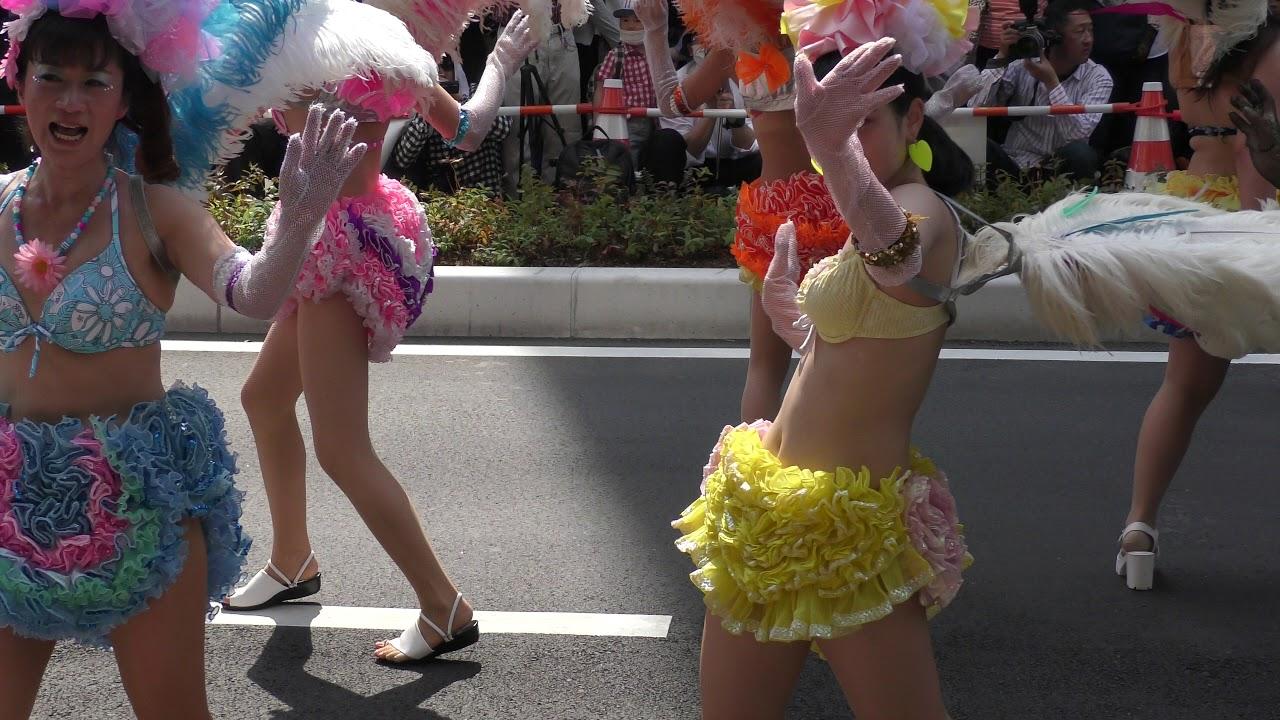 神戸 サンバ 祭り 可愛い