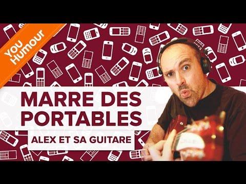 ALEX ET SA GUITARE:  Marre  des portables !