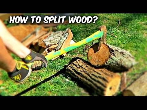You've Been Splitting Firewood with an Axe Wrong