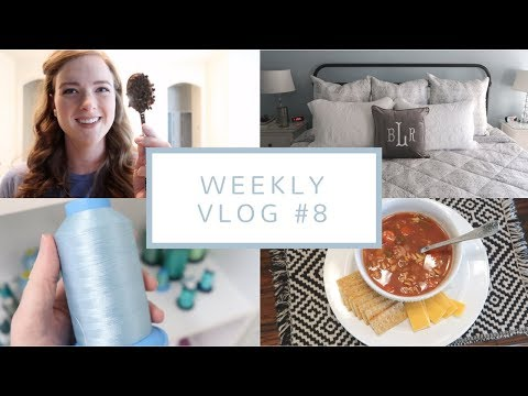 New Bedding, Cozy Fall Foods, + Terrible Allergies | Weekly Vlog #8 (Sep. 19-21, 2017)