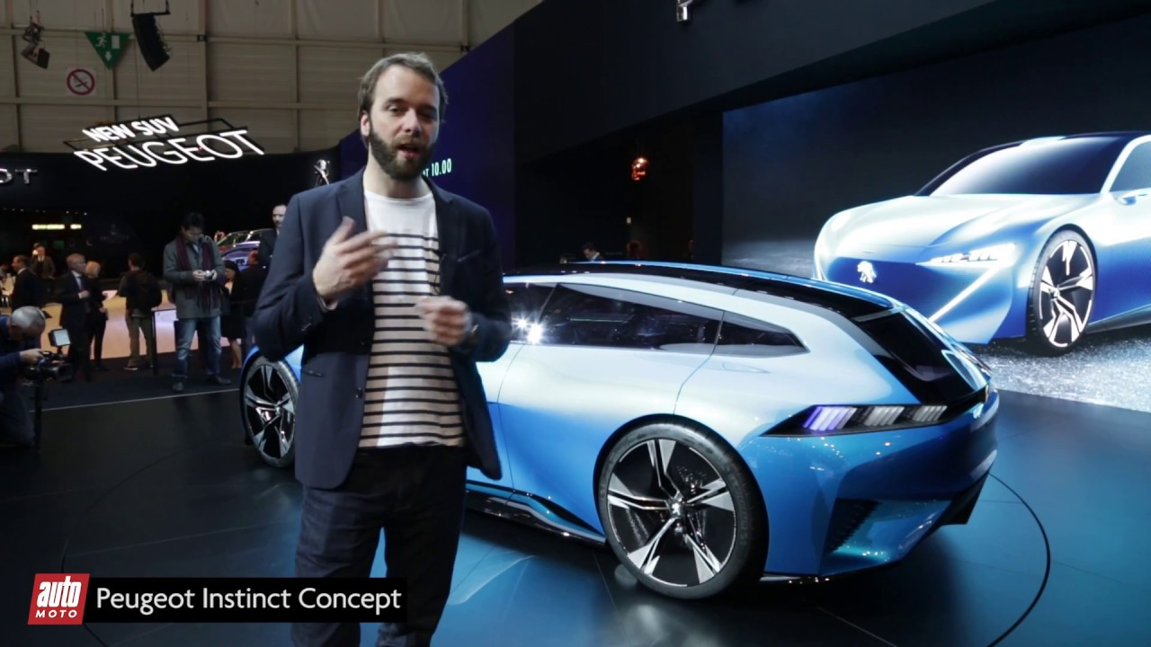Peugeot instinct concept salon geneve 2017 autonome et for A total concept salon