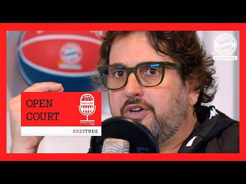 Coach Andrea Trinchieri im Open Court Podcast #13 des FC Bayern Basketball