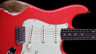 Smooth Bluesy Groove Guitar Backing Track Jam in A Minor