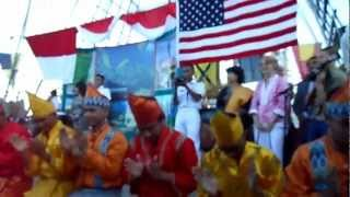 "KRI Dewa Ruci, New Orleans, LA, USA ""Indonesian Night 19 April 2012"" - part 1"