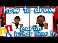 Gambar cover How To Draw Cartoon Martin Luther King Jr