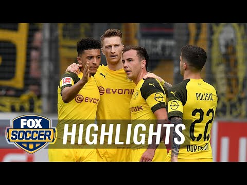SC Freiburg vs. Borussia Dortmund | 2019 Bundesliga Highlights