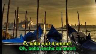 Barcarola-Offenbach (Belle nuit, ô nuit d