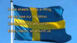K_naan - Wavin_ flag (Give Me Freedom) with lyrics - YouTube.flv
