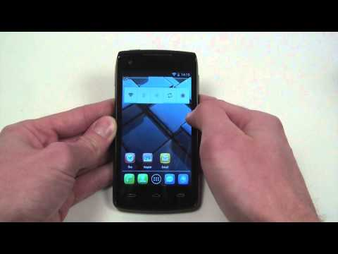 Alcatel OT-992D hands-on
