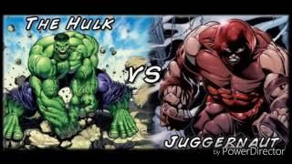 Халк VS Джаггернаут. Битва Титанов 1выпуск