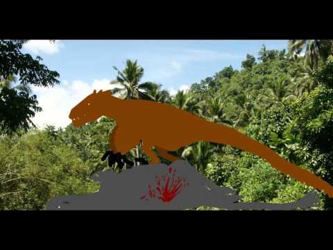 Alioramus VS Utahraptor