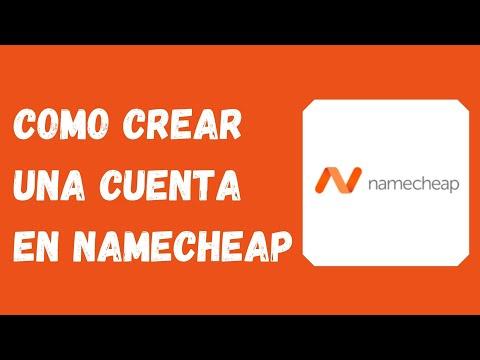 🔴 Como crear una cuenta en Namecheap (2021)