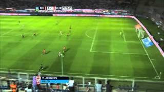Gol de Puch. River 0 Huracán 1. Supercopa Argentina.Fútbol Para todos