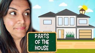 Aprende en Inglés las partes de la casa. (Parts of the House)