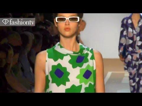 Diane von Furstenberg Show ft Arizona Muse - New York Fashion Week Spring 2012 NYFW   FashionTV FTV