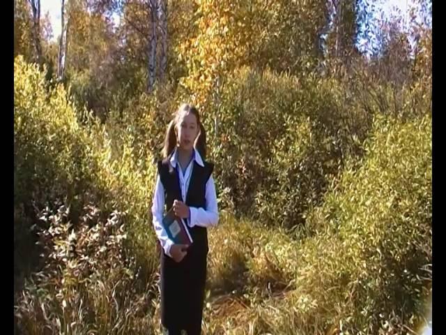 Антонина Тарбеева читает произведение «Алисафия» (Бунин Иван Алексеевич)