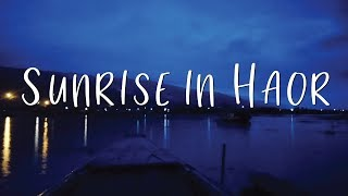 Sunrise in Haor in 30 Seconds   Tanguar Haor   Sylhet   Bangladesh