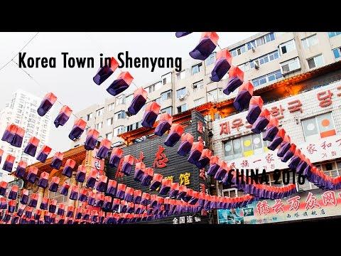 TRAVEL VLOG CHINA: Koreatown in Shenyang // 中国旅行记:沈阳的韩国城