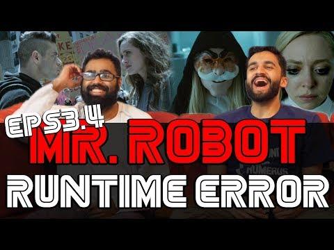 Mr Robot -  3x5 Runtime Error - Reaction