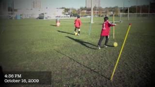 Under 11 Team Training Soccer/Football