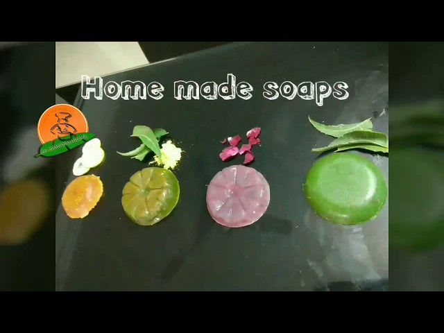 Home made soap/neem soap/dye for soap/ natural  color dyeing soaps