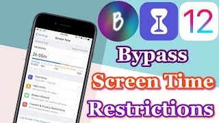 How To Bypass Screen Time & Restrictions On iOS 12.0-12.1 (No Jailbreak)