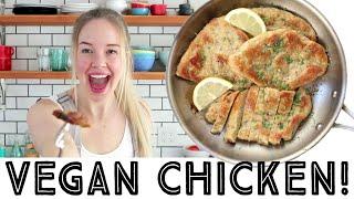 VEGAN CHICKEN! - Easy recipe from scratch - 8 ingredients