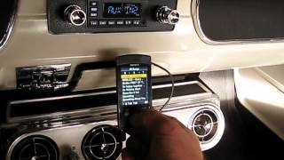 65 Mustang Convertible sound system upgrades