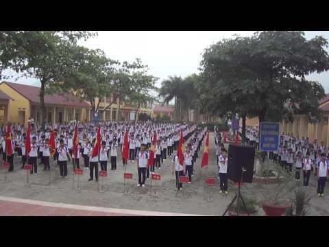 Bài tập thể dục giữa giờ---Trường THCS Yên Lãng