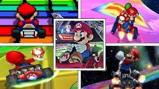 Evolution Of RAINBOW ROAD In Mario Kart Series Mario Kart Arcade GP (19922017)
