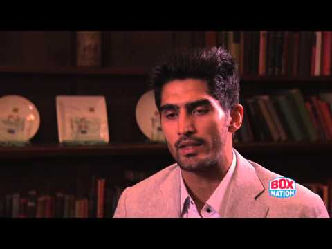 Vijender Singh on Why He's Starting His Professional Boxing Career in England - Exclusive Interview