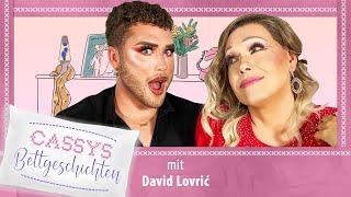 "Cassys Bettgeschichten | S1 E8 | ""Make-Up & Hinterteile"" mit Prince Charming-Kandidat David Lovrić"