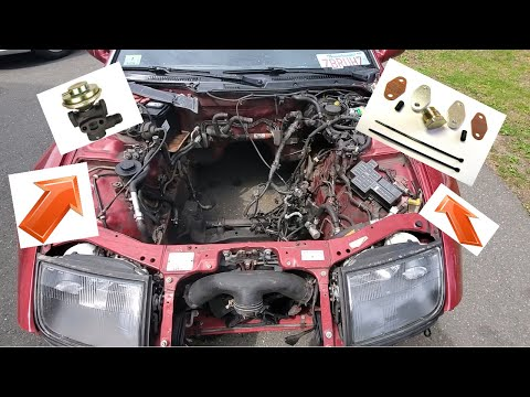 Complete Guide On How To Delete The EGR & Plenum Coolant Lines On A Nissan 300zx! (Episode 2)