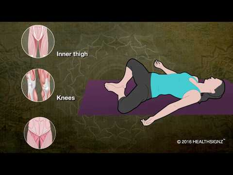 Reclining Bound Angle Pose: Relax the Yoga Way!