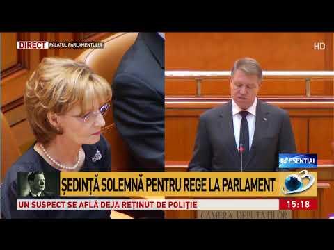 Klaus Iohannis a ţinut un discurs în memoria regelui