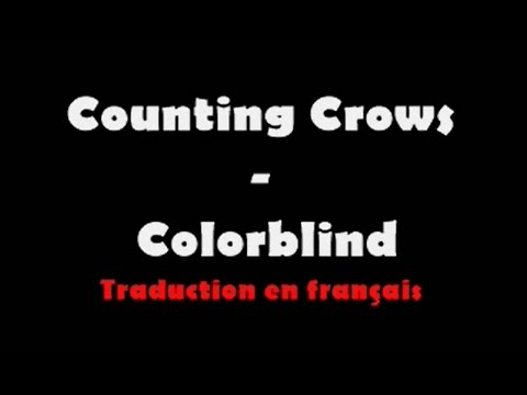 counting crows colorblind lyrics