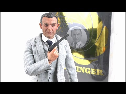 JAMES BOND 007 Big Chief Studios Goldfinger First Edition Figure Review   StephenMcCulla