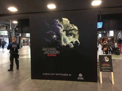 Michael Jackson Scream contest Brussels 29...