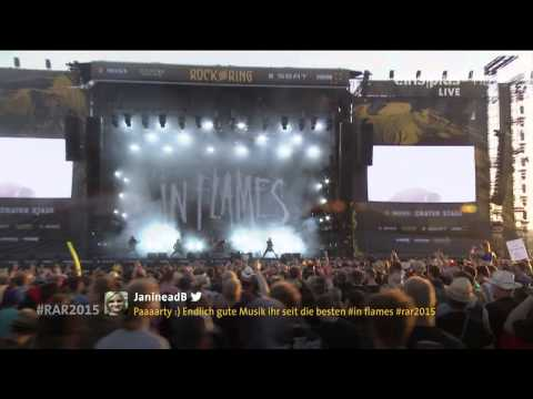 In Flames - 06.Cloud Connected Live @ Rock Am Ring 2015 HD AC3