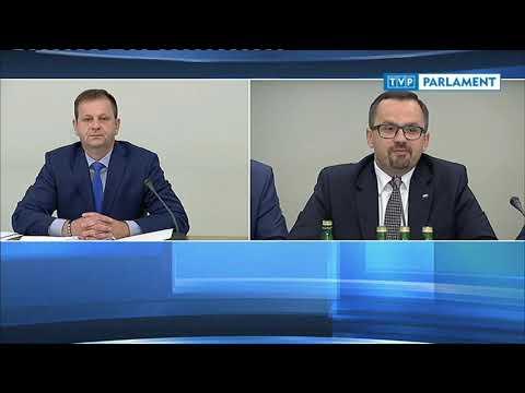 Komisja śledcza ds. VAT – przesłuchanie Sławomira Siwego (cz. 1)