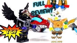 Lego Legends Of Chima Sky Joust 70114 Time-lapse & Review