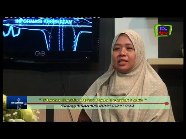 PKTV BONTANG | APA PENYEBAB Nyeri Pada Telapak Kaki  Bersama dr  Rahmawaty Dian Sriutami,Sp KFR