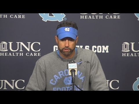 UNC Football: Fedora Post Virginia Tech