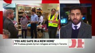 CBC News:  Ahmadiyya Muslim Community Canada Helps Resettle Syrian Refugees
