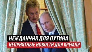 Нежданчик для Путина. Неприятные новости для Кремля